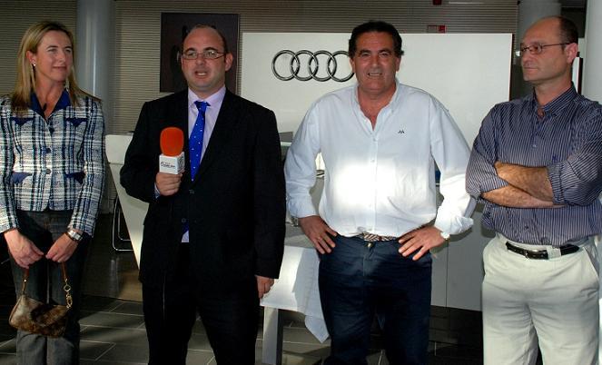 La Audi Quattro Golf Cup 2011 vuelve a realizar una parada en Motril por segundo año consecutivo