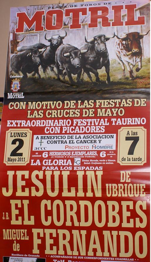 Festival taurino en favor de Proyecto Hombre y Asociación Española Contra el Cáncer