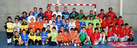 El Almuñécar 77 en el Torneo Exhibición de Andalucía prebenjamín de fútbol sala