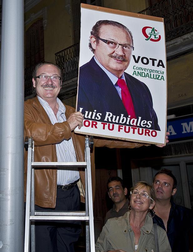 """Luis Manuel Rubiales (CA): """"Por tu futuro"""""""