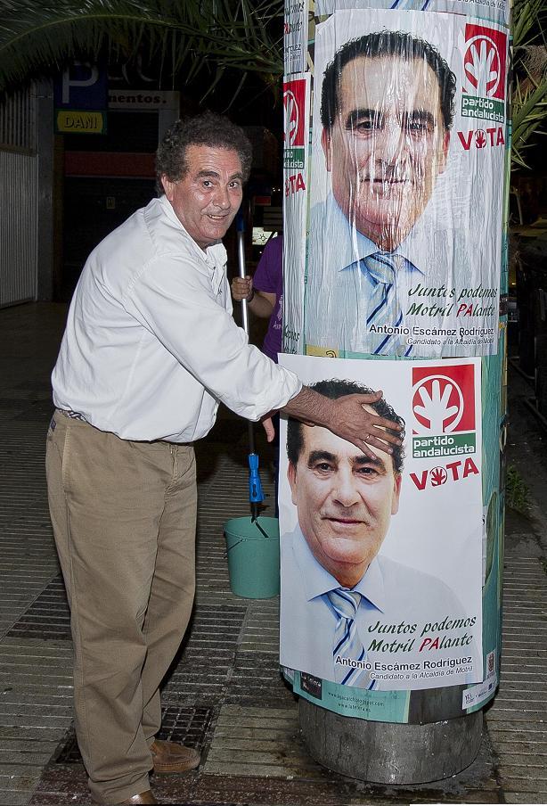 """Antonio Escámez (PA) : """"Juntos podemos. Motril PAlante"""""""