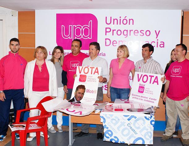 """""""Francisco Pérez regenerará las formas de hacer política"""" por UPyD de Motril"""