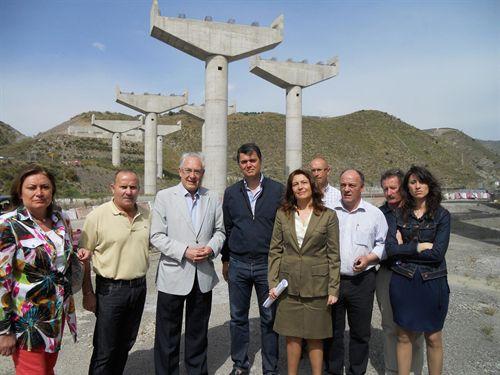 Los candidatos del PP de Motril y Adra piden de manera conjunta la terminación de la autovía A-7