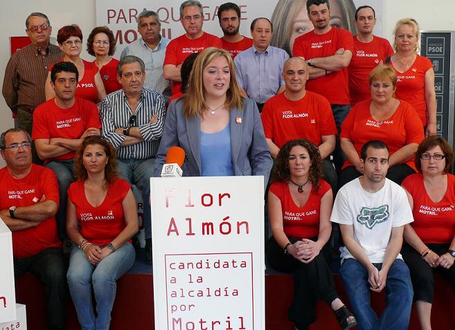 """Flor Almón anuncia que el PSOE no pactará, """"bajo ningún concepto y sea cual sea el resultado de las municipales"""", con  Convergencia Andaluza"""