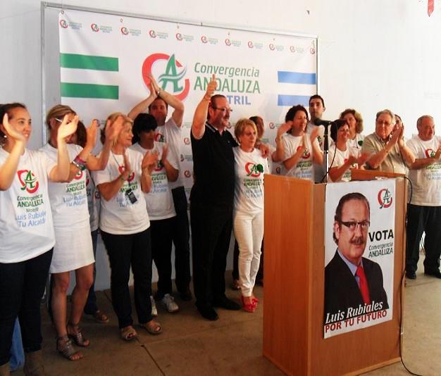 """Luis Rubiales: """"Convertiremos el ayuntamiento en un verdadero motor de empleo. Tenemos experiencia y capacidad para hacerlo"""""""