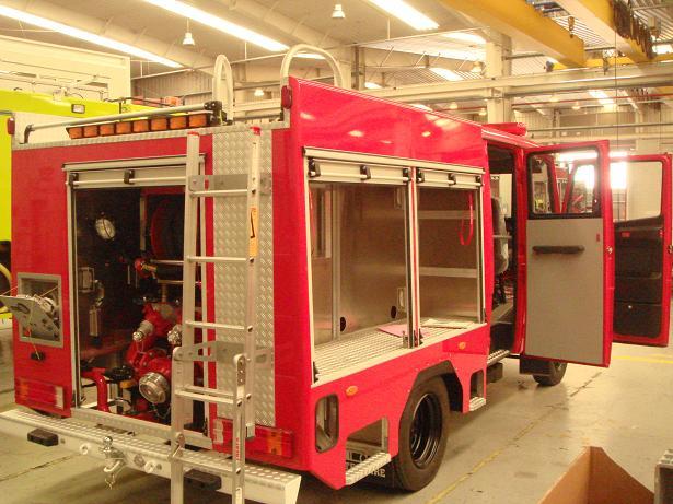 Los Bomberos de Motril incorporan dos camiones a su dotación