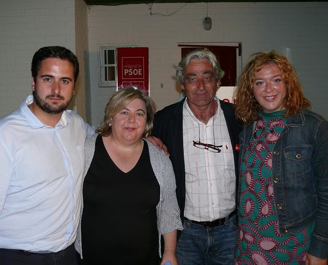 La vocal de la Ejecutiva Regional y consejera de Agricultura y Pesca apoya a os candidatos socialistas de Motril y Torrenueva