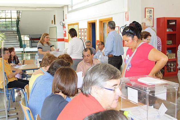 A las 6 de la tarde habían votado en Motril el 49,99% del censo frente al 48,30% de 2007