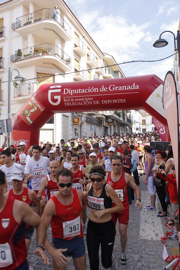 """Órgiva acoge el XXIII Gran Premio de Fondo """"Ciudad de Órgiva 2011"""" con record de participación"""