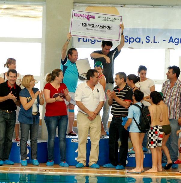 Finalizan los Juegos Escolares en el Medio Acuático con la victoria del Virgen de la Cabeza