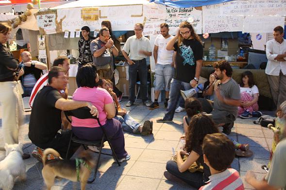 El Movimiento 15M de Motril se concentrará en la plaza de España el día de la investidura 11 de junio