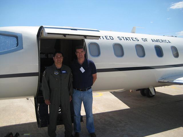 La USAF vuela por fin a su base tras la avería que le impidió participar en el Festival Aéreo de Motril