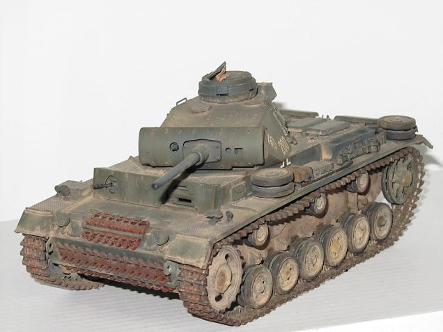 """Modelismo: """"Panzer III Ausf.L"""" por Francisco José Pinos Cabrera"""