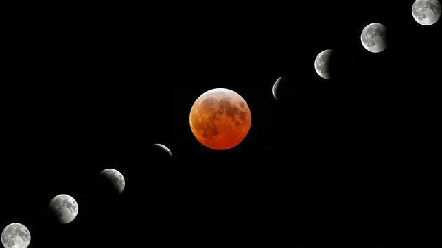 Esta noche a las 22,13 horas se podrá ver el eclipse de luna