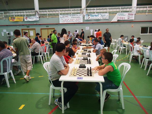 Torneo de Ajedrez Camping Don Cactus de Carchuna