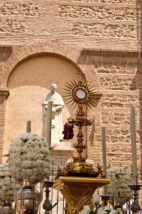 La procesión del Corpus en Motril
