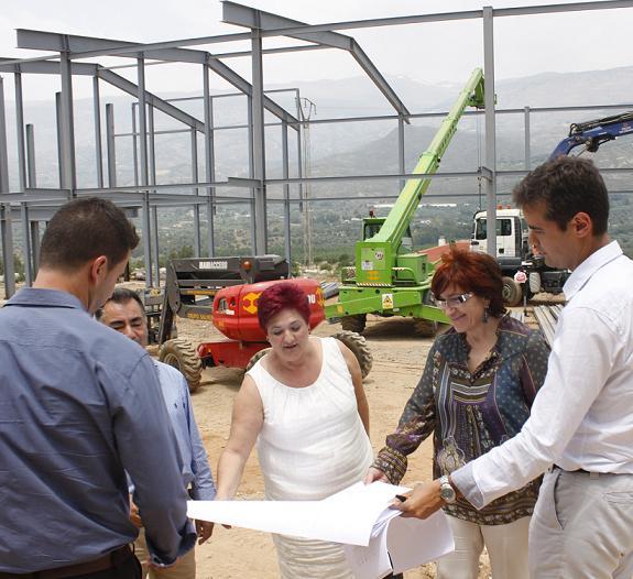 El Ayuntamiento de Órgiva pondrá en marcha el centro logístico de productos ecológicos de la Alpujarra a finales del verano