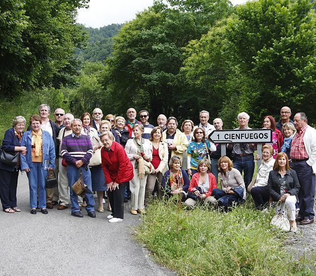 Los Cienfuegos de Granada en su cuna geográfica de origen, Asturias