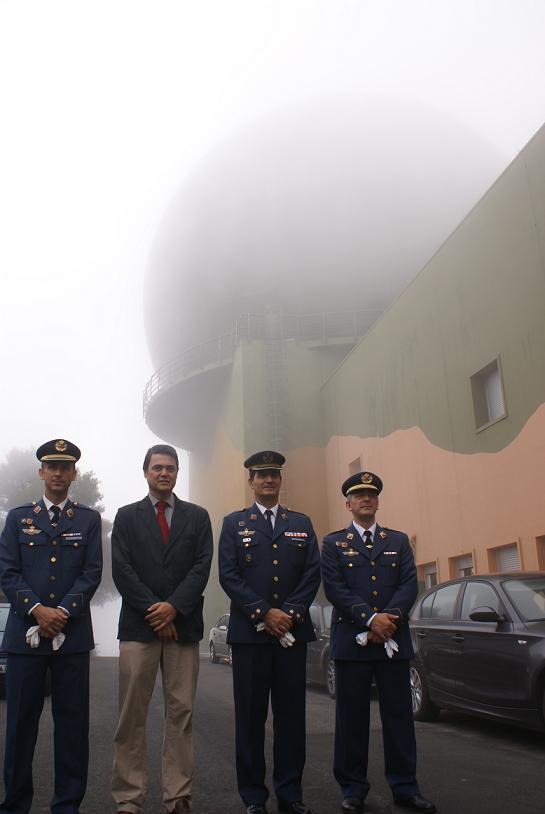 El Escuadrón de Vigilancia Aérea de Motril despide al Comandante Rafael Godoy