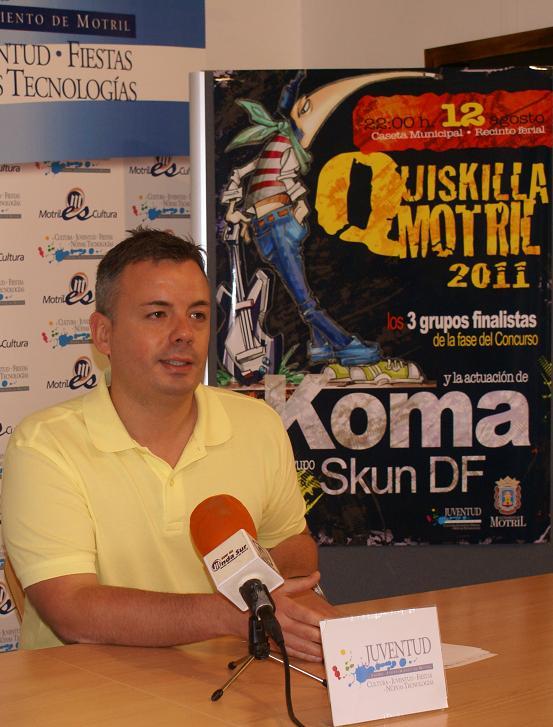 El Quiskilla Rock revalida edición para fomentar y afianzar las bandas musicales de Motril