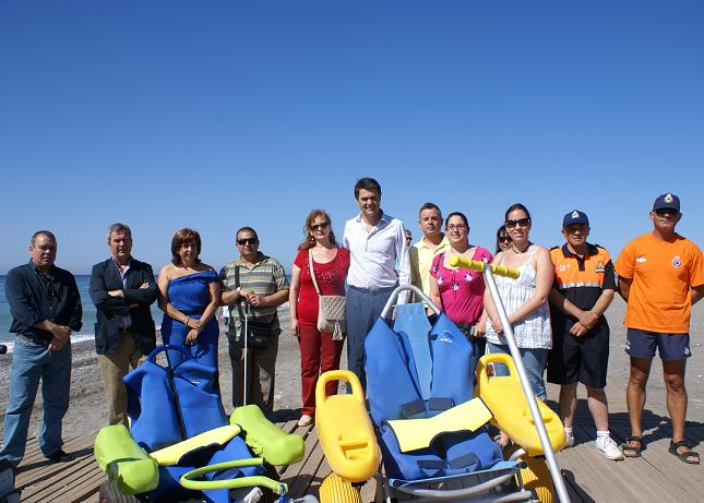 Las playas motrileñas, referentes del turismo accesible