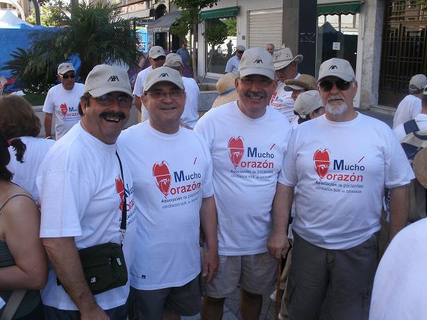 El Área de Gestión Sanitaria Sur de Granada lleva a cabo un programa con Mucho Corazón
