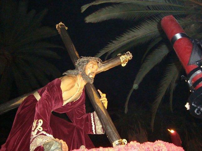 Jesús de la Pasión saldrá en procesión el sábado 30 de julio con motivo del 25 aniversario de la Hermandad