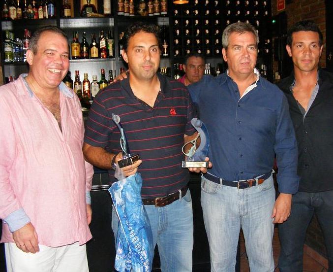 """La IV Liga de Pádel """"Ciudad de Motril"""" celebra su entrega de trofeos"""