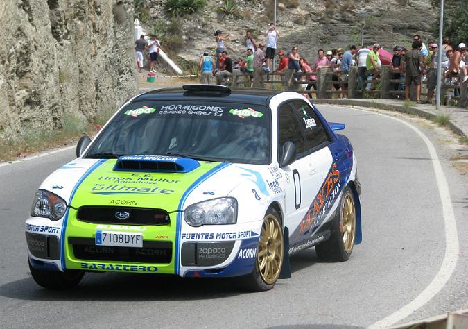 El domingo se celebra la 3ª Cronometrada Automovilística de La Rábita