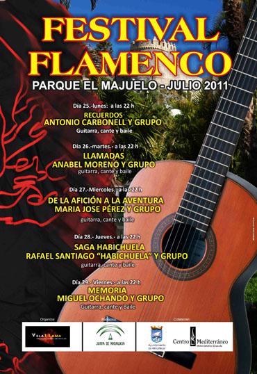 Este lunes comienza en el Majuelo el IX Festival Flamenco de Almuñécar