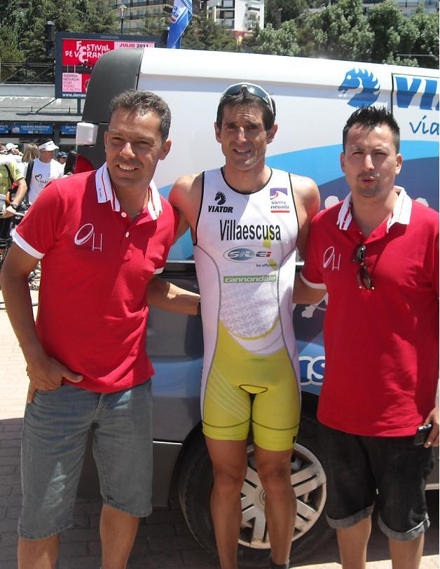 El salobreñero Francisco Villaescusa campeón en el Triatlón de Sierra Nevada