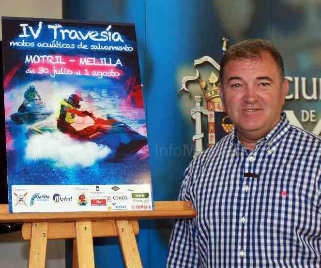 Veinte pilotos participarán en la V Travesía Motril-Melilla en moto