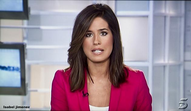 La motrileña Isabel Jiménez presenta la edición informativa de las 15 h de Tele 5