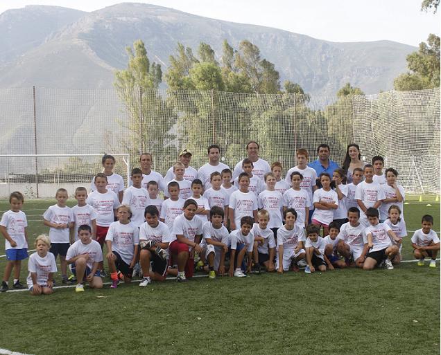 """La capital alpujarreña acoge el I Campus deportivo """"Ciudad de Órgiva"""""""