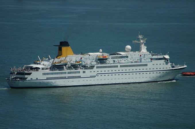 El Spirit of Adventure llegará al puerto de Motril el 16 de agosto