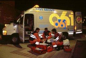 Tres heridos en un accidente de tráfico en Almuñécar