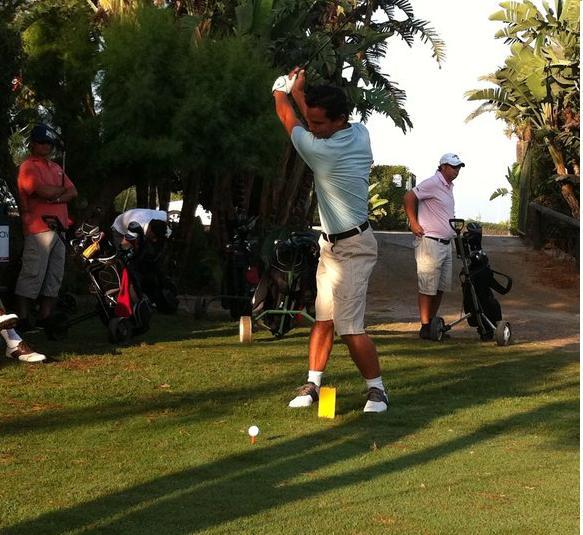 Un centenar y medio de jugadores en el II Torneo de Golf de Playa Granada