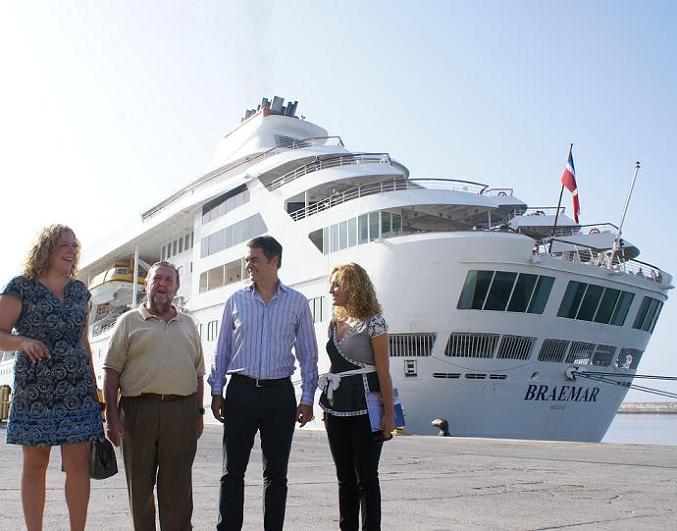 Motril logra un importante crecimiento con la llegada de Cruceros