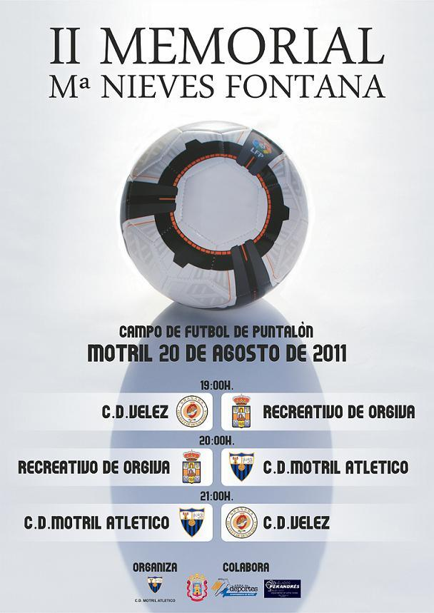 Este sábado se celebra el II Memorial de Fútbol Mari Nieves Fontana