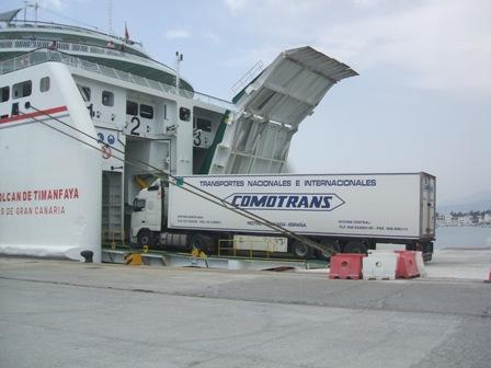 La línea que conecta Motril con Melilla empieza a reivindicarse como un modo rentable para el transporte de mercancías