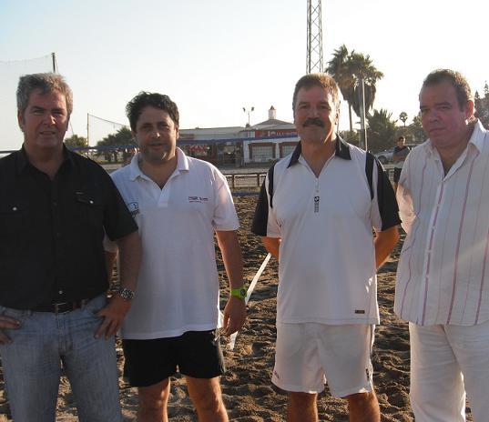 Más de 250 jugadores disputan el I Open Tenis Playa 'Ciudad de Motril'