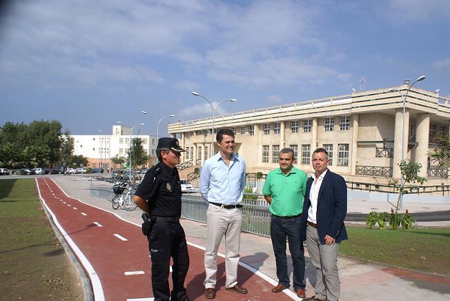 La ciudad gana en reordenación y calidad con la culminación de las obras del entorno del  Pabellón
