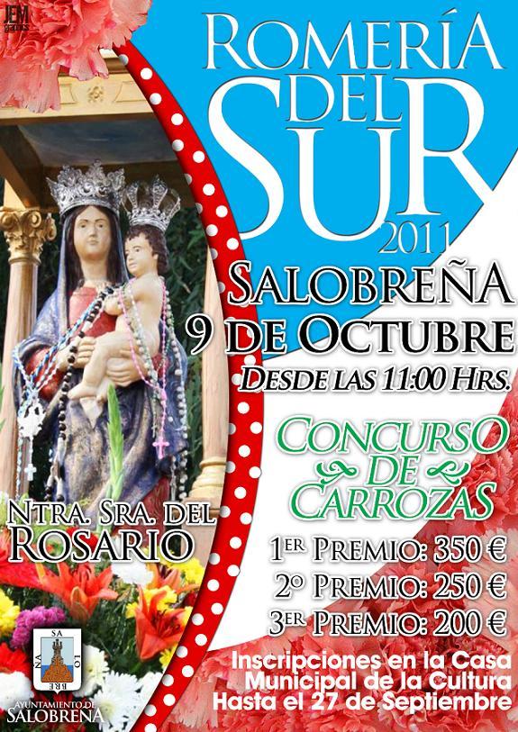 El día 9 de octubre Romería del Sur en Salobreña