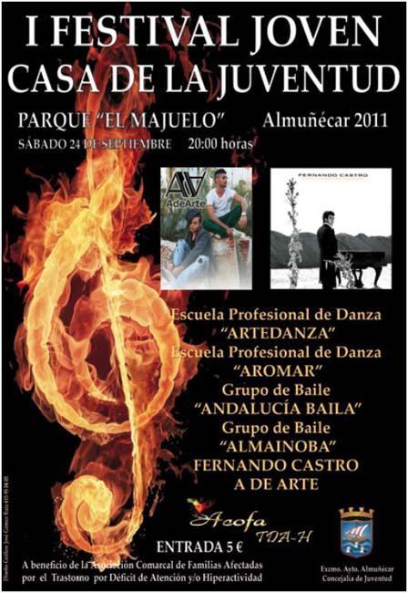 I Festival Joven Casa de la Juventud en Almuñécar