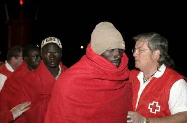Llegan a Motril en patera 46 inmigrantes subsaharianos