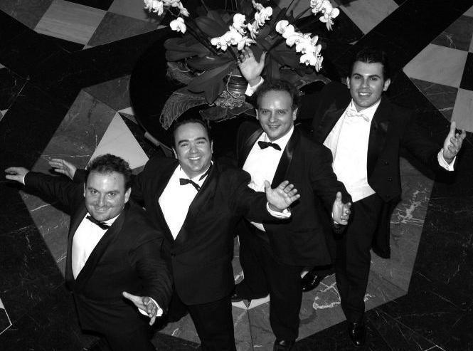 Este sábado en el Teatro Calderón ópera, zarzuela, canciones italianas y españolas con Los Tres Tenores