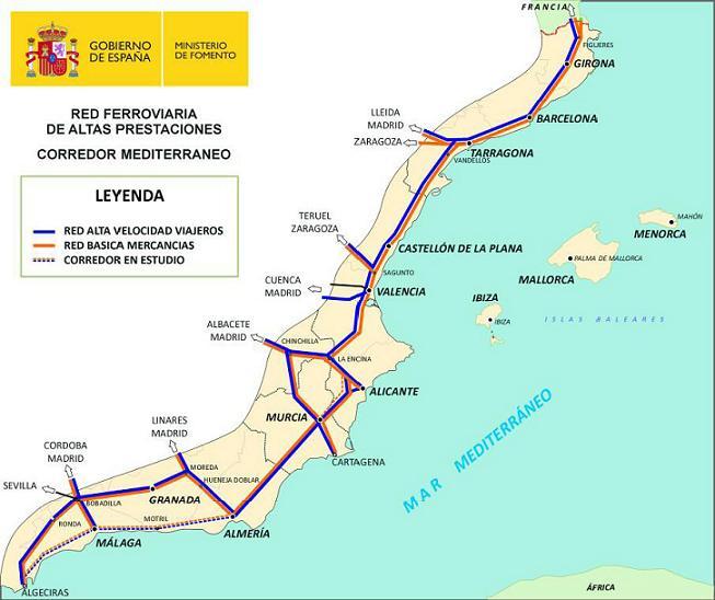 Motril se adhiere al manifiesto de los empresarios para reivindicar el Corredor ferroviario