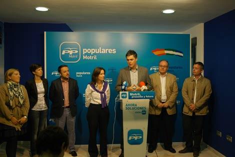 El PP de Granada presenta su candidatura en Motril y Almuñécar