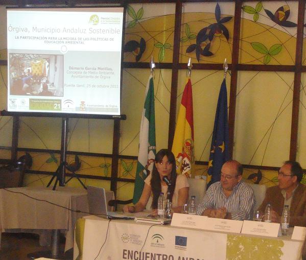 Órgiva participa en el II Encuentro Andaluz de Experiencias de Educación Ambiental y Sostenibilidad Local