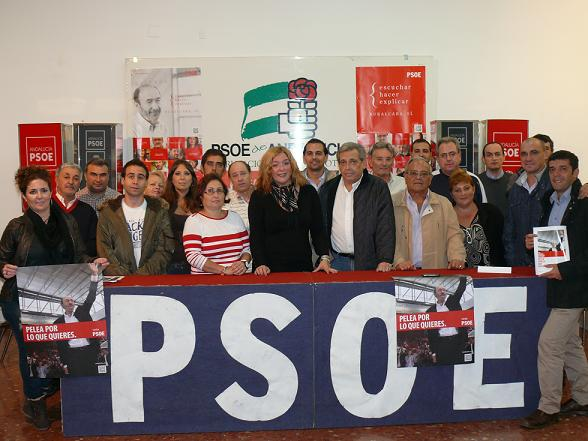 EL PSOE de Motril inicia la campaña con ilusión en el proyecto de Rubalcaba y con el objetivo de crear empleo